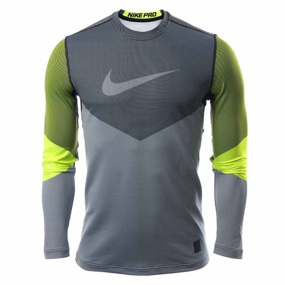62d4d4a5b Nike Shirts | Mens Pro Hyperwarm Drifit Fitted Long Sleeve | Poshmark